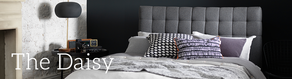 Daisy Upholstered Bed