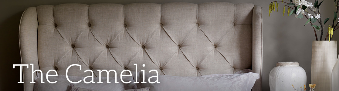 Camelia Upholstered Bed