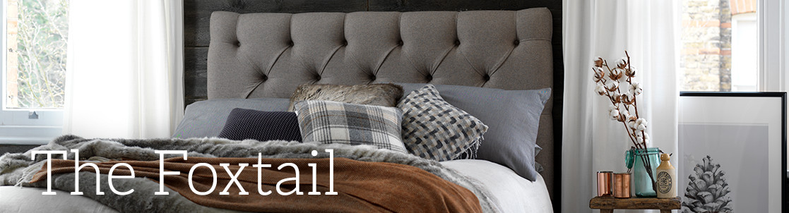 Foxtail Upholstered Bed
