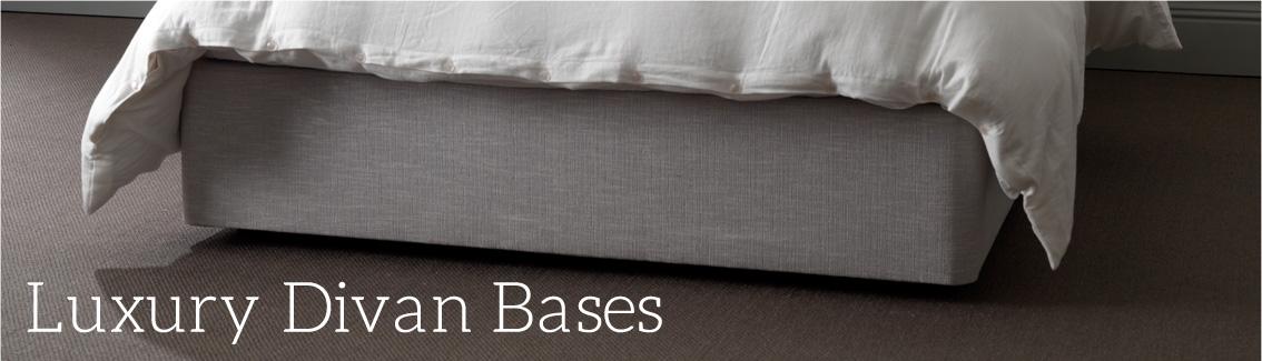 Luxury divan base button sprung for Sprung double divan base only