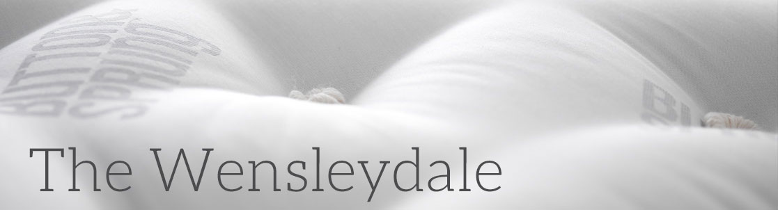 Wensleydale Pocket Sprung Mattress - up to 29,760 springs