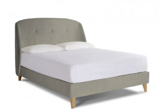 Jasmine Double Upholstered Bed Frame