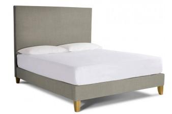 Lavender Super King Size Upholstered Bed Frame