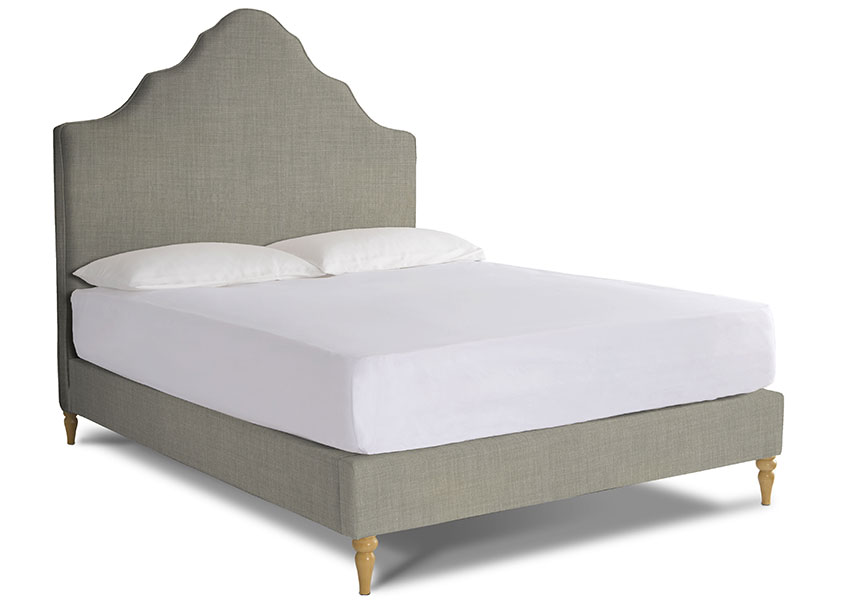 Rose Upholstered Bed