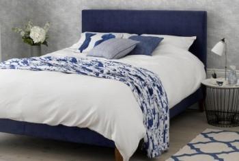 Autumn Bedroom Trends : Woad Blue