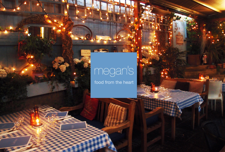 Win: Dinner for two at Megan's, one of London's most romantic restaurants