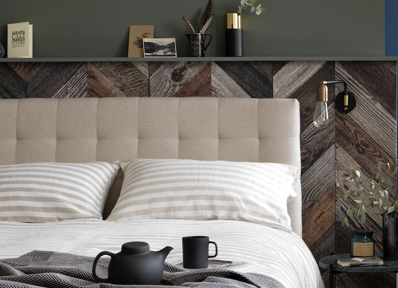 Introduce Warm and Cosy Neutrals into the Bedroom with Button & Sprung