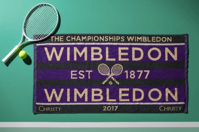 Win a pair of official Wimbledon Towels!